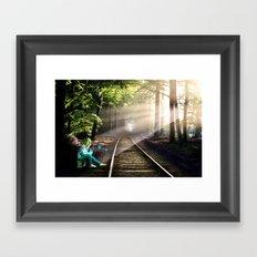 Dream Line Framed Art Print