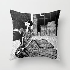 it is only a paper moon Throw Pillow