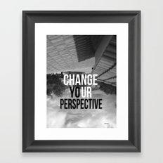 PERSPECTIVE! Framed Art Print
