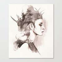 hydra Canvas Prints featuring Hydra by BookOfFaces