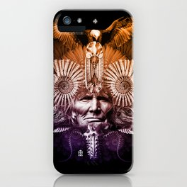 Psychedelic Shaman iPhone Case
