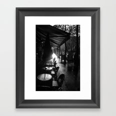 Le Matin Framed Art Print