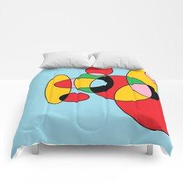 Circulos mult color Comforters