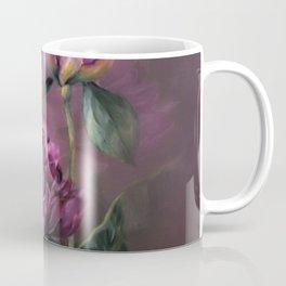 PURPLE PEONY Coffee Mug