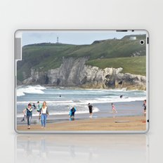 White Rock Beach Laptop & iPad Skin