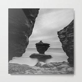The Tea cup rock of Thunder Cove Metal Print
