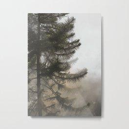 Myst. Tree Metal Print