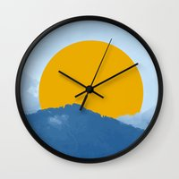 indonesia Wall Clocks featuring Bali, Indonesia by nicholas ellinas