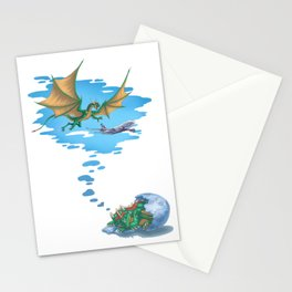 If Dogs Chase Cars... Stationery Cards