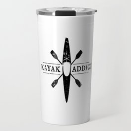 Kayak Addict Travel Mug