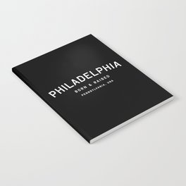 Philadephia - PA, USA (Arc) Notebook