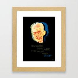 Samuel Beckett Framed Art Print