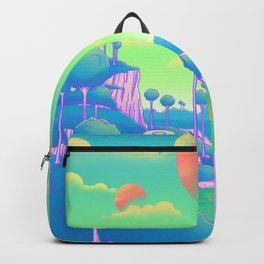 Planet Namek Backpack