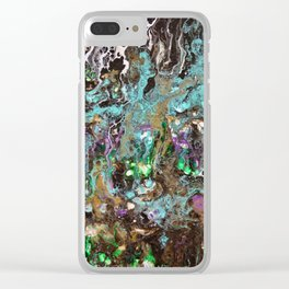Welcome to the garden of Eden Clear iPhone Case