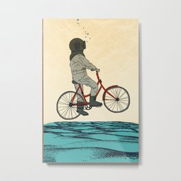 AQUA CYCLE Metal Print