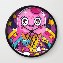 Sugar High: Sprinkles 2 Wall Clock