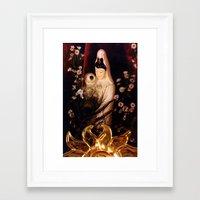 budi satria kwan Framed Art Prints featuring Quan Yin/ Kwan Yin by Bella Mahri-PhotoArt By Tina