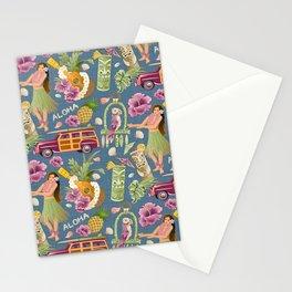 Hula Half Drop Stationery Cards