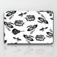 insects iPad Cases featuring INSECTS by D E  W I L D E