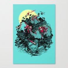 THE BRUNCH Canvas Print