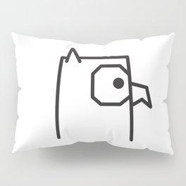 Minimalist Owl Pillow Sham