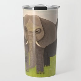 Elephant Picnic Travel Mug