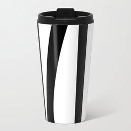 Dancing - Black and White #minimal #art #design #kirovair #buyart #decor #home Travel Mug