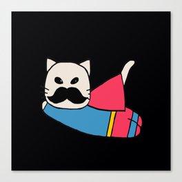 super cat-327 Canvas Print
