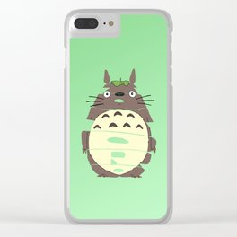 my neighbor totorro Clear iPhone Case