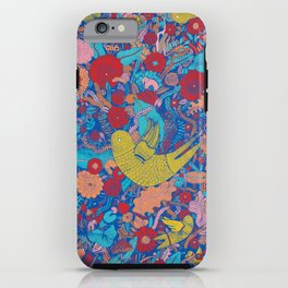 The Bird is Moving iPhone Case