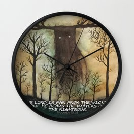 Far From the Wicked Wall Clock