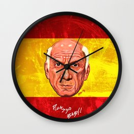 Pablo Picasso Remixed Wall Clock