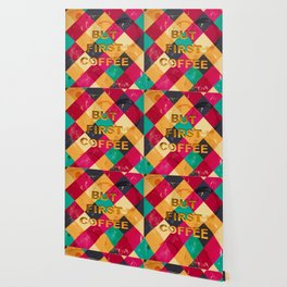 But first Coffee – Notebooks & more Wallpaper
