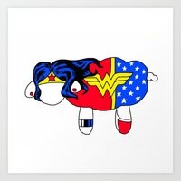 Wonder Sheep Art Print