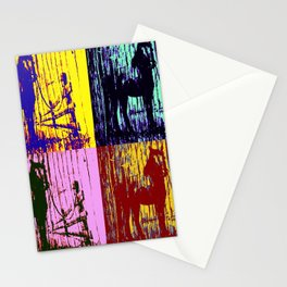 Horse in the shadows Stationery Cards