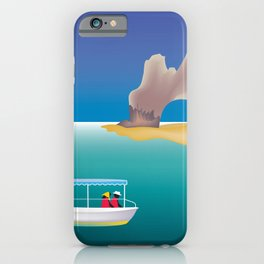 Cabo San Lucas, Mexico - Skyline Illustration by Loose Petals iPhone Case