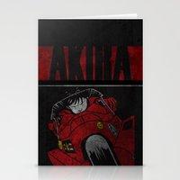 akira Stationery Cards featuring AKIRA by Zorio