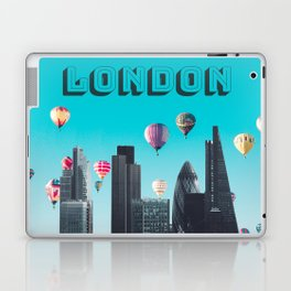 London England United Kingdom Skyline Downtown Laptop & iPad Skin