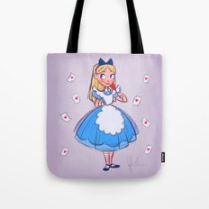 Alice Sketch Tote Bag