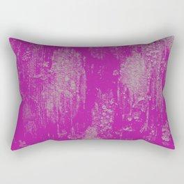 pink lichen Rectangular Pillow