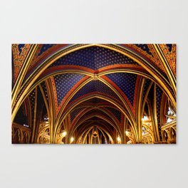 Sainte Chapelle  Canvas Print