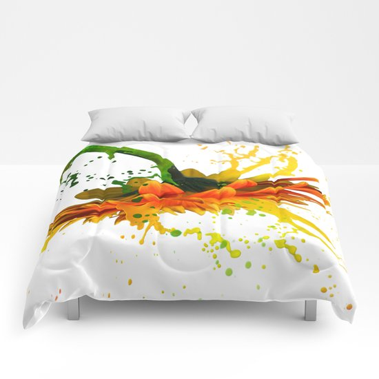 Liquid Daisy Comforters