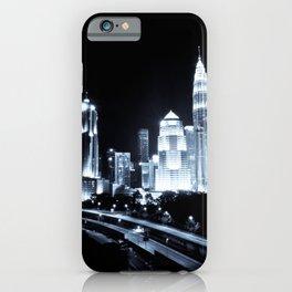 Kuala Lumpur | Malaysia | Night Lights iPhone Case