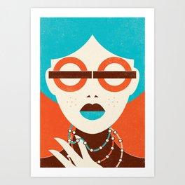Underground Fashion Art Print