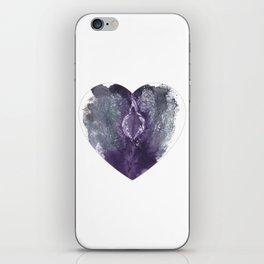 Verronica Kirei's Vulva Valentine iPhone Skin