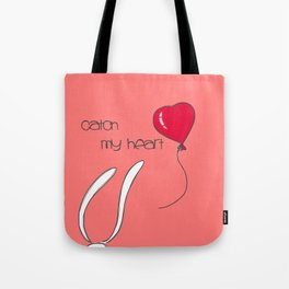 Catch my heart Tote Bag