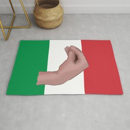 Italian Meme Rug