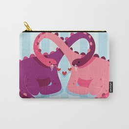 Tangled With You Carry-All Pouch