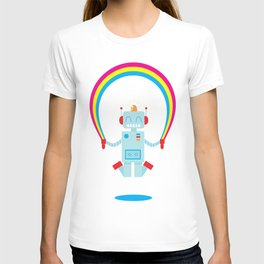 Skipping a Rainbow T-shirt