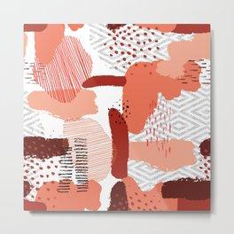 Canyon Clay Metal Print
